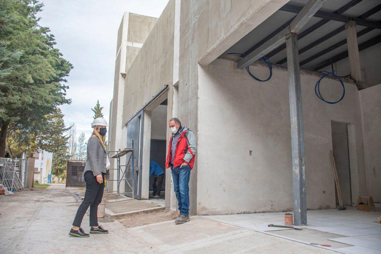 Avanza la construcción del crematorio municipal