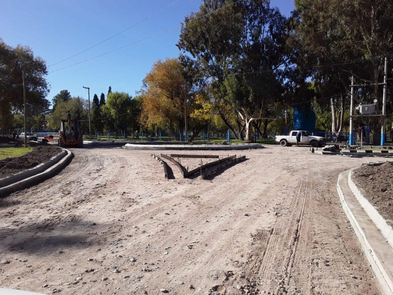 Avanza la obra de pavimento La Rivera y Apycar