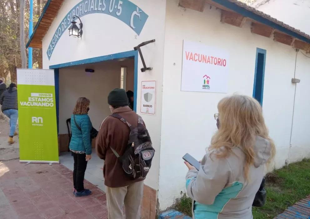Vacunas contra la Covid19: así continúa el cronograma en Roca