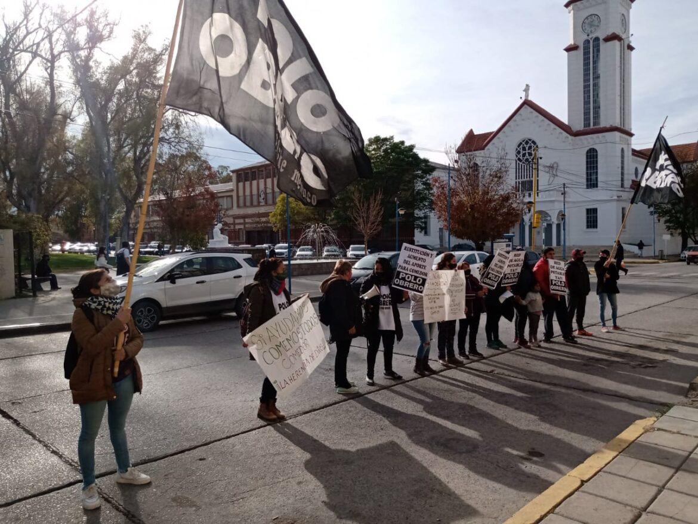 Protesta en el Municipio por un comedor de Quinta 25