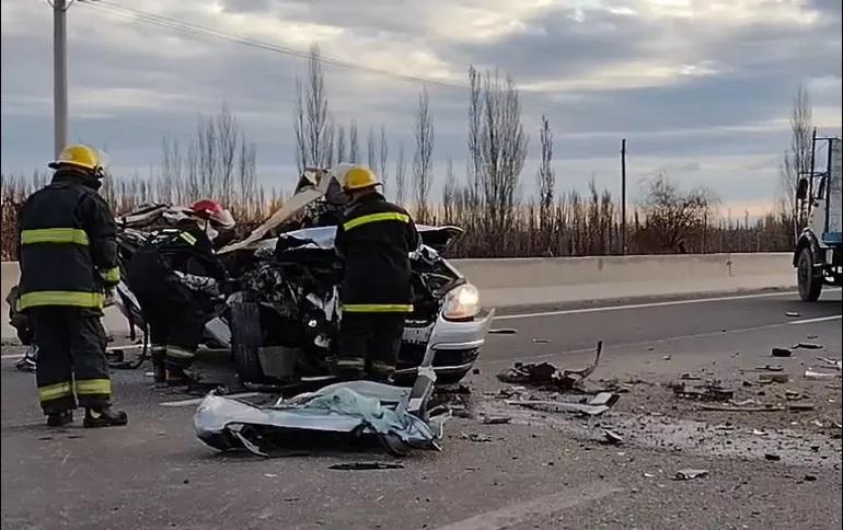 Falleció un hombre reconocido del deporte en siniestro vial en Ruta 22
