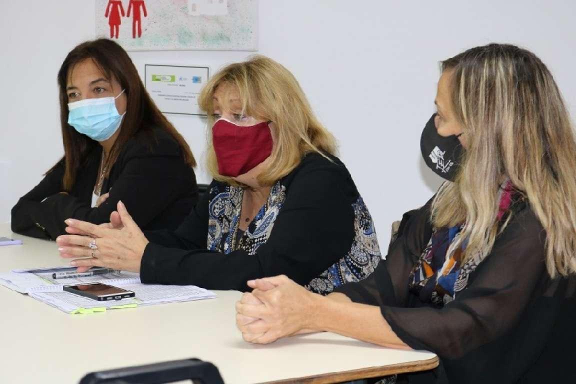 Educación y el gremio UnTER evaluaron la situación sanitaria en las escuelas rionegrinas