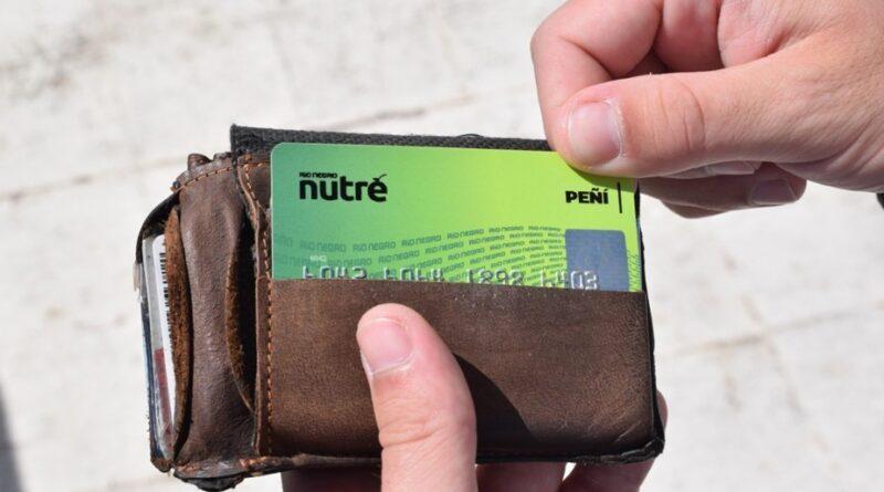 Se habilitaran las tarjetas Peñi, Pasar y Celiacos