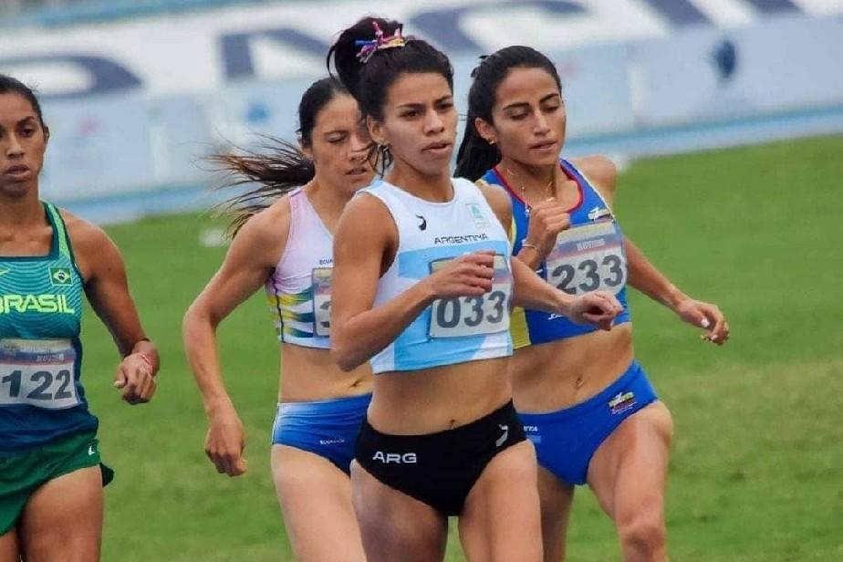 La rionegrina Escudero se destacó en el Sudamericano de atletismo