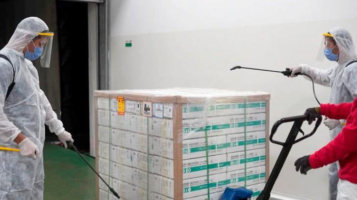 Llegaron 37.200 dosis contra el covid19 a Río Negro