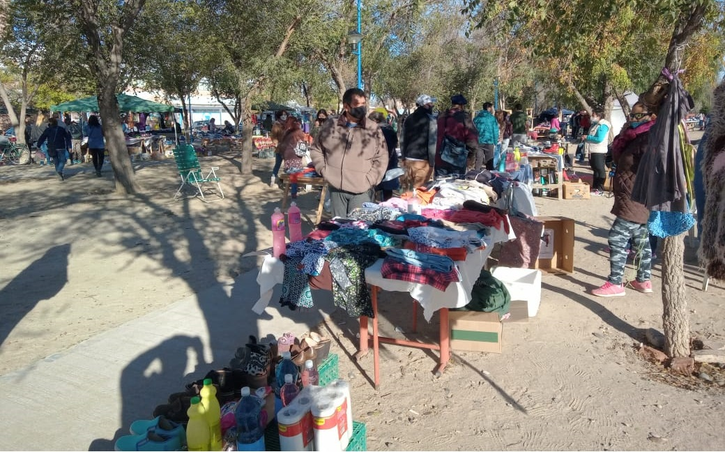 Esta tarde vacunarán en la Feria de la Maipú