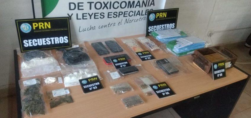 Desarticularon un punto de venta de drogas en Roca