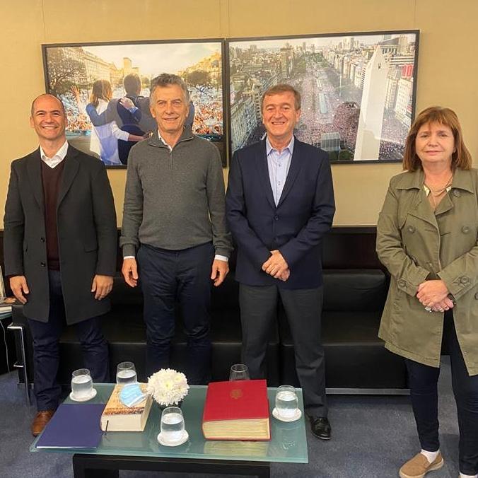 Tortoriello se reunió con Mauricio Macri y Patricia Bullrich