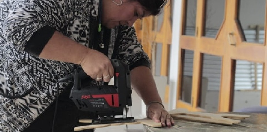 Iniciaron los talleres oficios del programa Emprender en Roca