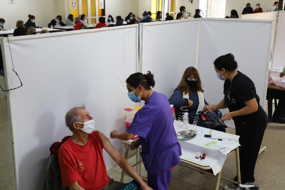 Esta semana habrá vacunación abierta para mayores de 60 años