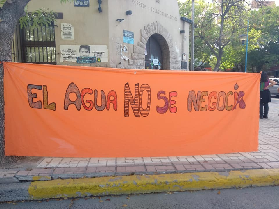 Por la emergencia hídrica, convocan a manifestarse en defensa del agua.