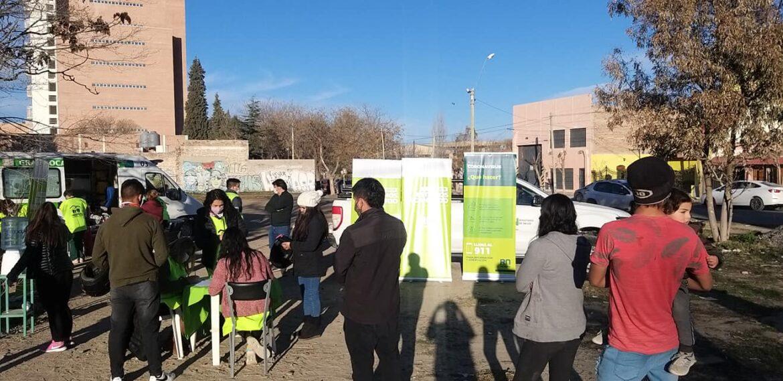 Hoy el vacunatorio móvil del hospital estará en Paso Córdova
