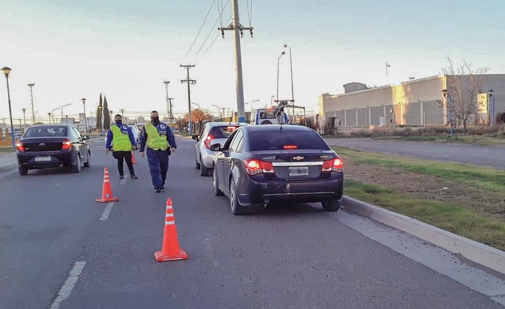 Alcoholemia positiva y seis vehículos secuestrados durante el fin de semana