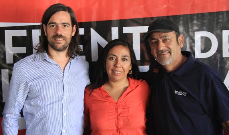 """Laura """"Xiwe"""" Santillan, precandidata del Frente de Izquierda reitera el llamado a la unidad"""