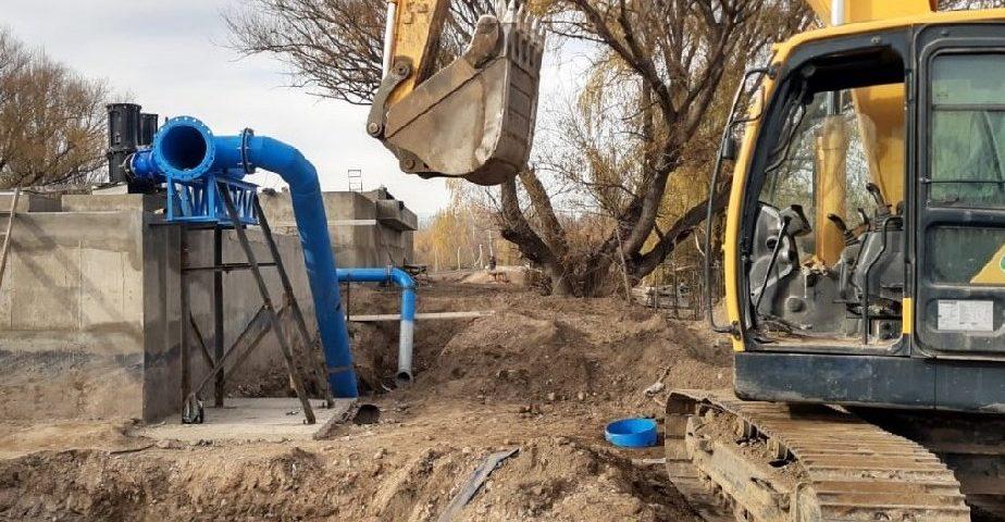Plan Castello: Continúa la construcción de la nueva planta potabilizadora en Roca