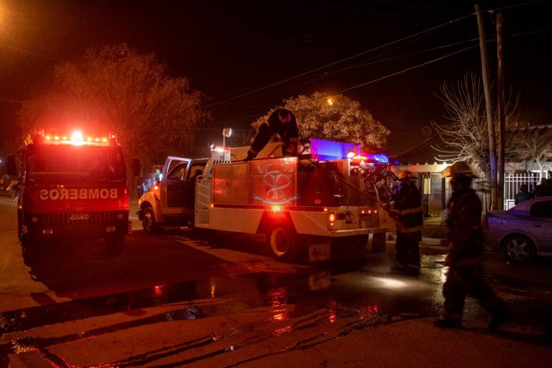 Jueves agitado para Bomberos: tres incendios en distintas viviendas