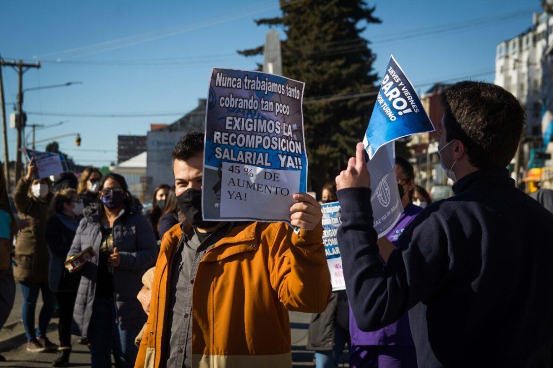 ATSA: Trabajadores de salud van al paro por 24 horas una vez más