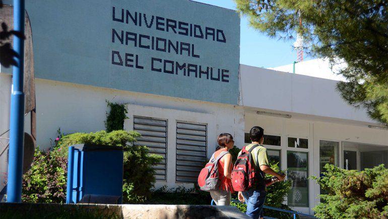 La Universidad del Comahue dictará carreras de modalidad totalmente virtual