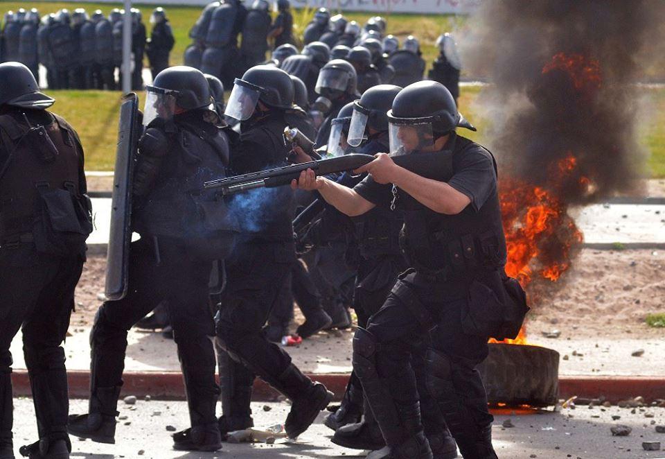 A ocho años de la aprobación del Pacto YPF – Chevrón y el aval represivo del gobierno neuquino