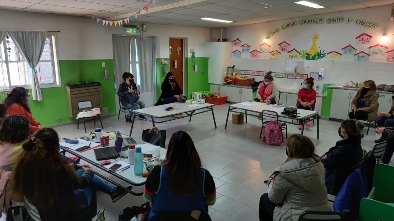 Unter recorrió establecimientos de educación inicial de Río Negro