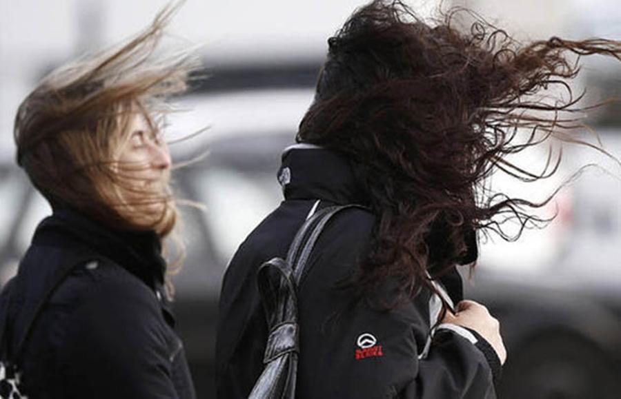 Se viene un fin de semana con alerta meteorológica por vientos