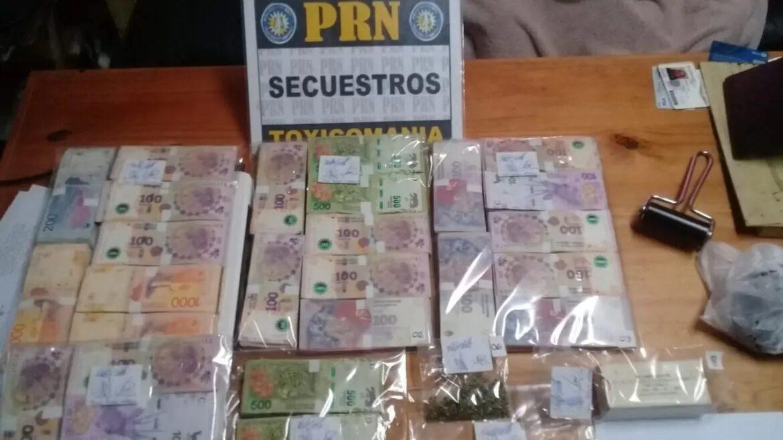 Se realizaron 23 allanamientos por drogas con secuestro de importantes sumas de dinero y vehículos
