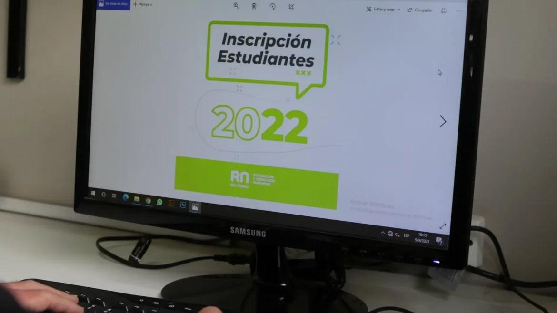 ¡Atención! Último día para la preinscripción al Ciclo lectivo 2022