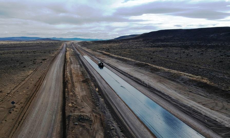 La Ruta 23 ya se encuentra en su tramo final de su tan ansiado asfalto