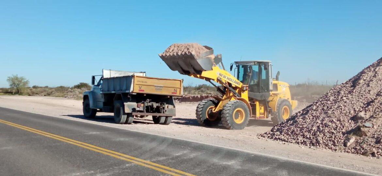Más trabajos en la Ruta 22 para mejorar las condiciones de transitabilidad