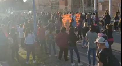 Movilizaron en el centro de la ciudad para pedir «Justicia por Byron»