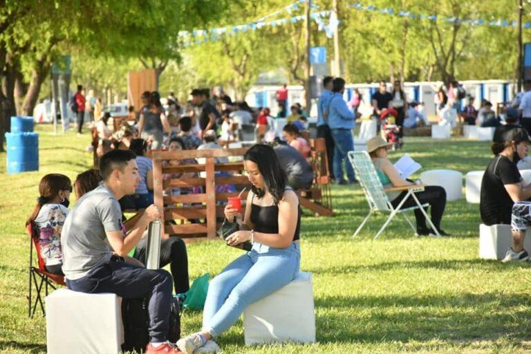 ¿A ver si te encontras? Mirá toda las fotos del Festival de la Sidra y el Turismo