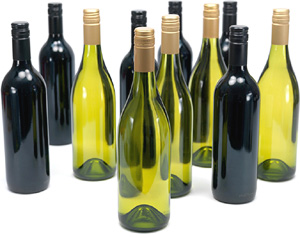 Wine Botlles Sealed Without Corker