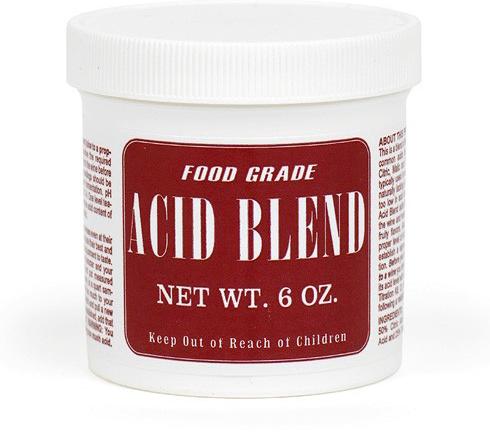 Acid Blend For Wine Making
