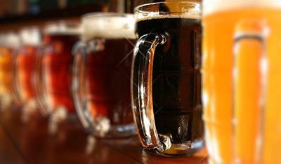 Assortment Of Craft Beers