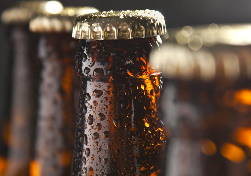 Bottled Homebrew Beer