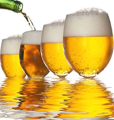Beer In Brewing Water