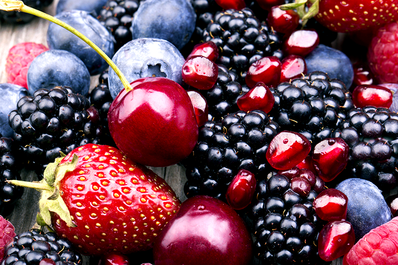 Berries For Making Blended Fruit Wines