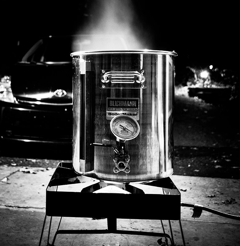 Boiling A Wort BW