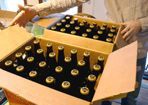 Bottled Homebrew Two Cases