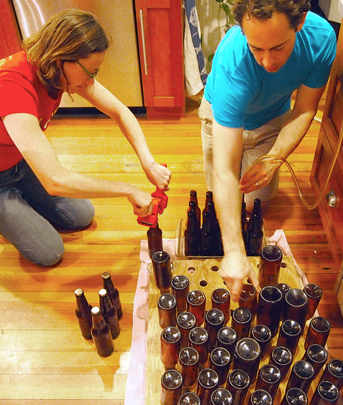 Bottling Homebrew Beer At Home