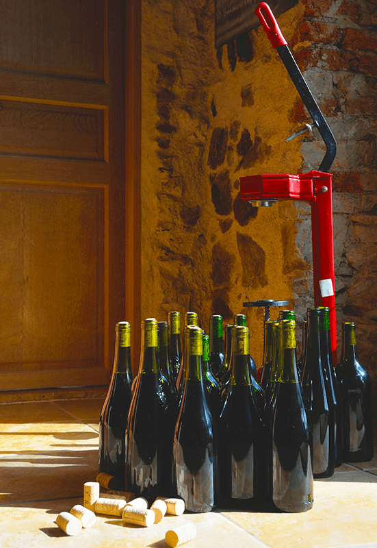 Bottling Wine With Sulfites