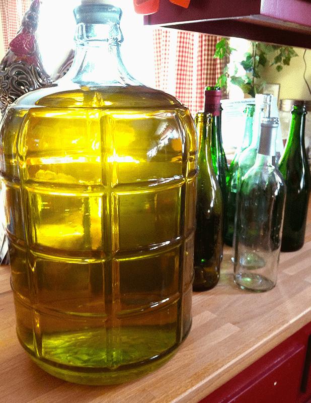California Chardonnay made from wine kit