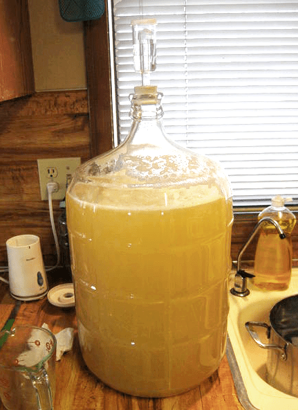 This is the mead that won't ferment.