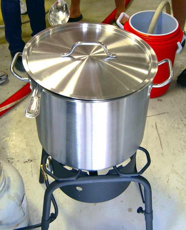 Clean Brew Kettle Passivation