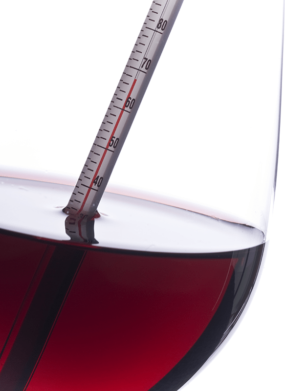Clearing Wine Temperature
