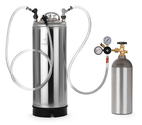 Equipment For Carbonating A Homebrew Keg