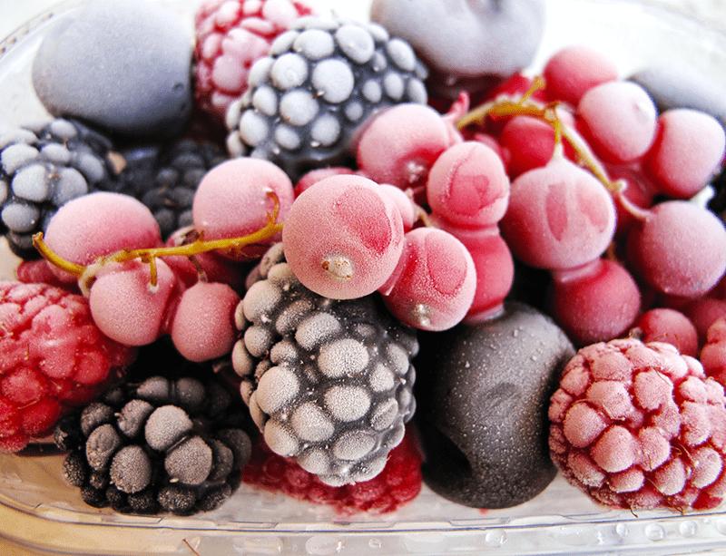 Frozen Wine Making Fruit