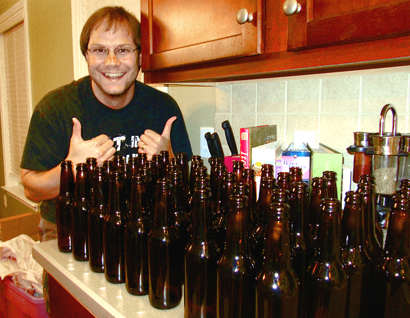 He Knows How Long It Takes To Make Beer
