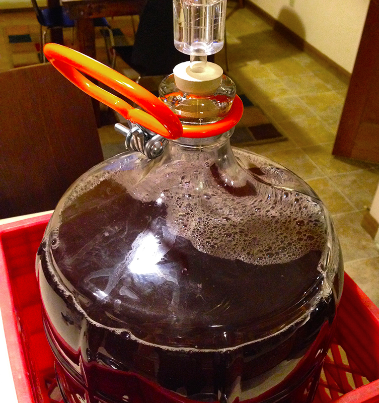Headspace in Secondary Fermenter