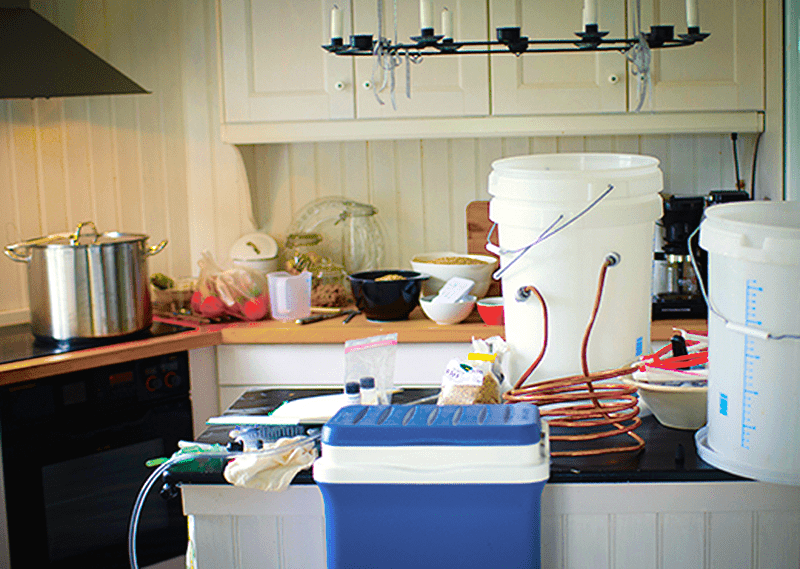 Home Brewing Workspace